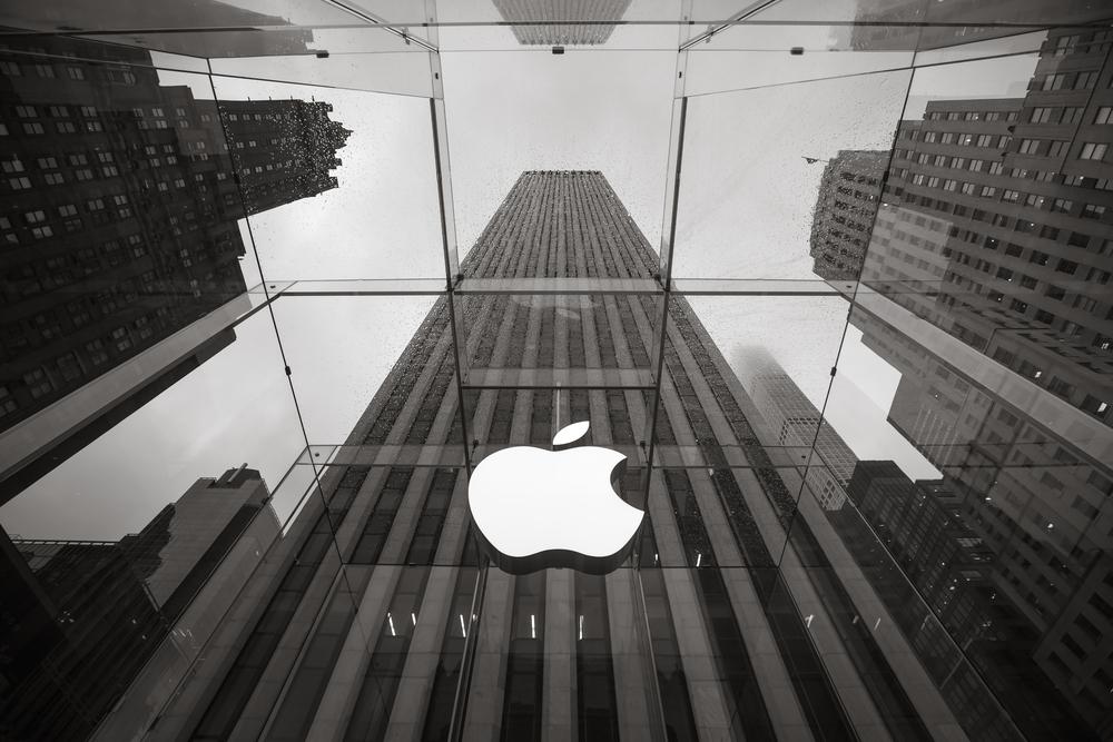 りんごのマークの会社