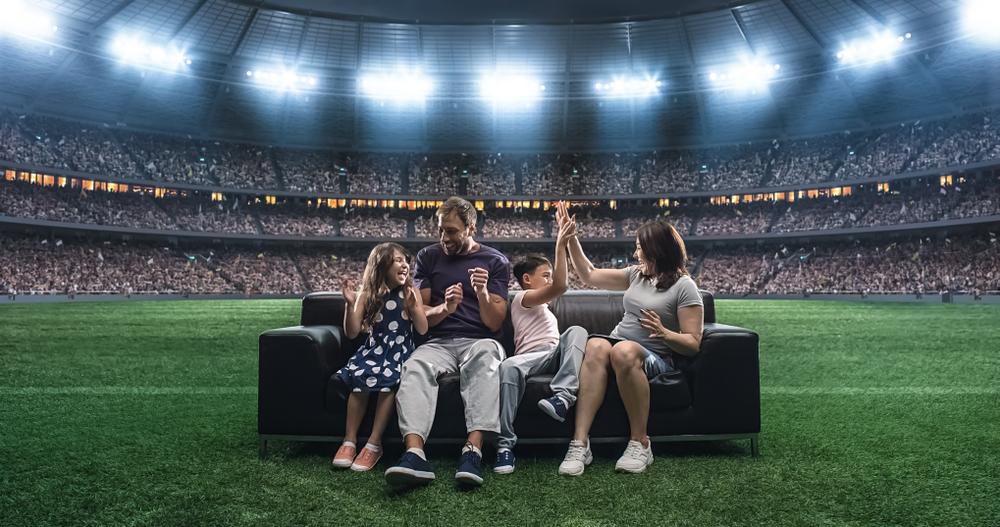 近未来のスポーツ観戦